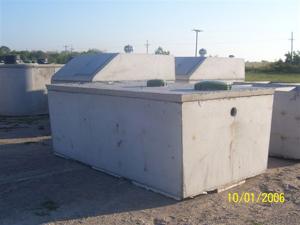 1 500 Gallon Low Pressure Dose Tank Go Hausner