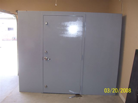 Custom built for your needs go hausner for Custom safe rooms